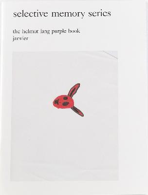 the helmut lang purple book janvier selective memory series