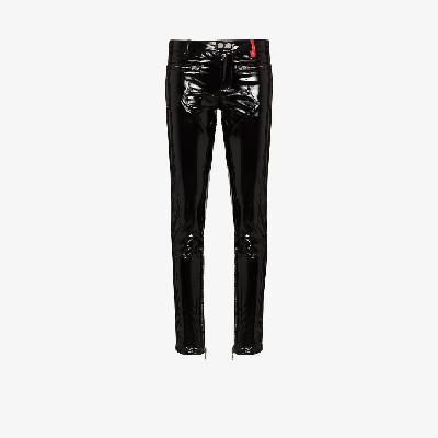 032c - Patent Punk Skinny Trousers