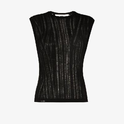 032c - Floating Rib Knitted Tank Top