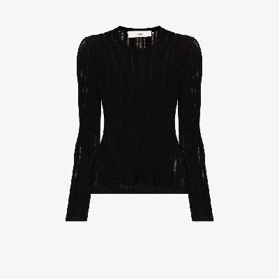 032c - Floating Rib Knitted Top