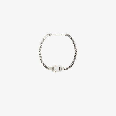 1017 ALYX 9SM - Silver Tone Buckle Necklace