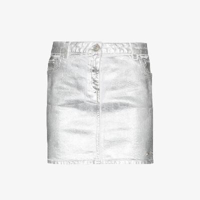 1017 ALYX 9SM - Metallic-Print Mini Skirt