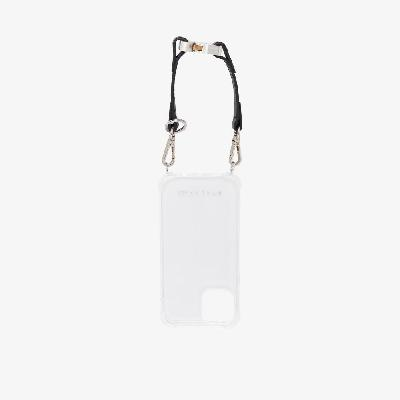 1017 ALYX 9SM - Clear IPhone 12 Case With Strap