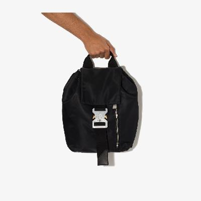 1017 ALYX 9SM - Black Tank Buckled Backpack