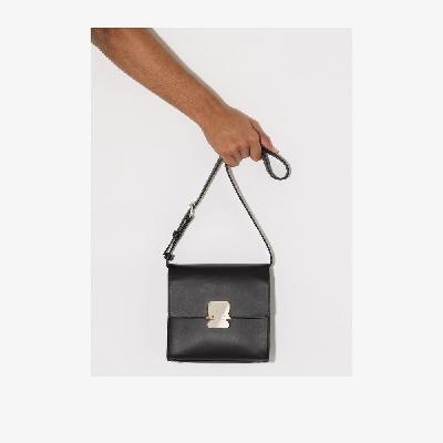 1017 ALYX 9SM - Black Ludo Leather Messenger Bag