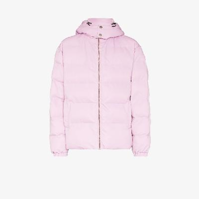 1017 ALYX 9SM - Buckled Neck Hooded Puffer Jacket