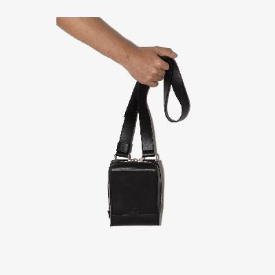 A-COLD-WALL* - Black Convect Leather Cross Body Bag