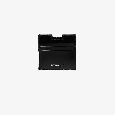 A-COLD-WALL* - Black Sheet Leather Card Holder