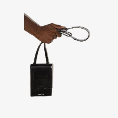 A-COLD-WALL* - Black Stack Leather Cross Body Bag