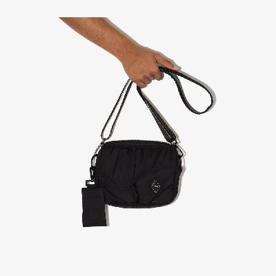 A-COLD-WALL* - Black Diamond Padded Cross Body Bag