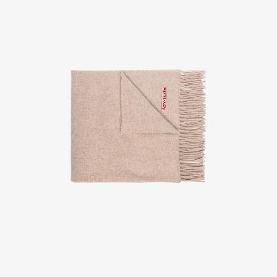 Acne Studios - Beige Canada Wool Scarf