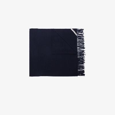 Acne Studios - Blue Canada Wool Scarf