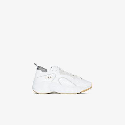 Acne Studios - White Manhattan Leather Sneakers