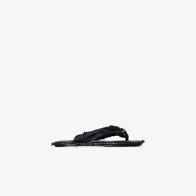 Acne Studios - Black Bema Leather Sandals