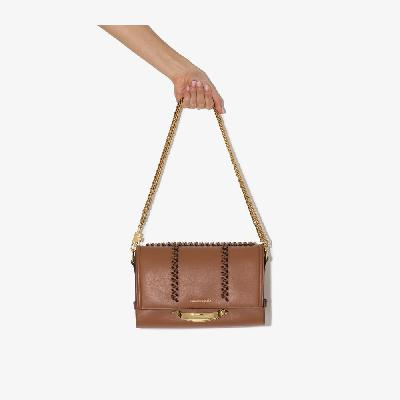 Alexander McQueen - Brown The Story Leather Shoulder Bag