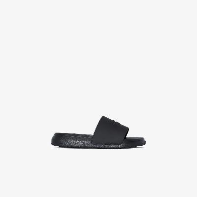 Alexander McQueen - Black Logo Slides