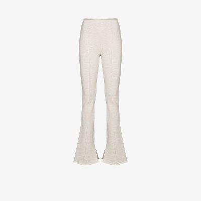 Alexander Wang - High-Waisted Flared Leg Trousers