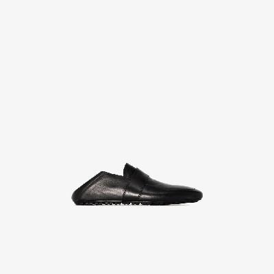 Balenciaga - Black City Leather Loafers