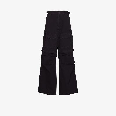 Balenciaga - Large Loose Fit Cargo Trousers