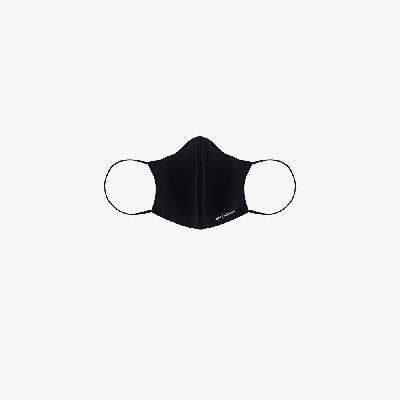 Balenciaga - Black Logo Print Face Mask