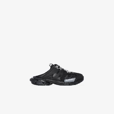 Balenciaga - Black Track Sneaker Mules
