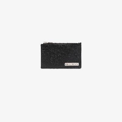 Balenciaga - Black Leather Card Holder