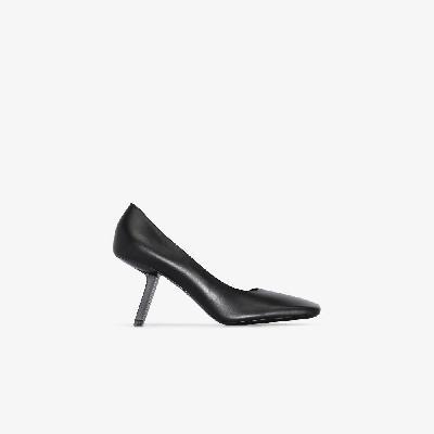 Balenciaga - Black Void D'Orsay 110 Leather Pumps