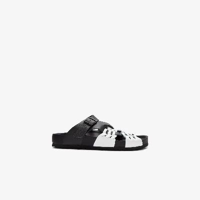 Birkenstock - X CSM Black And White Tallahassee Sandals
