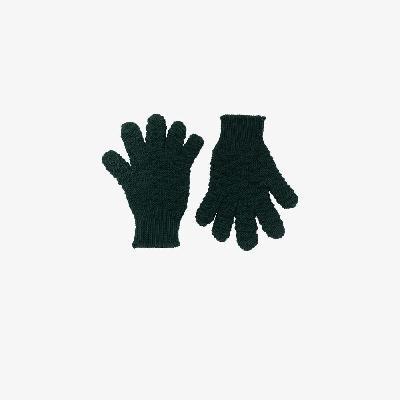 Bottega Veneta - Green Wool Gloves