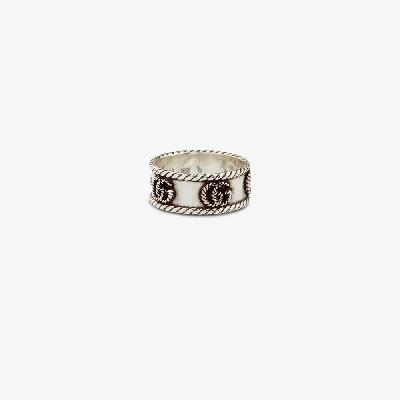 Gucci - Sterling Silver GG Ring