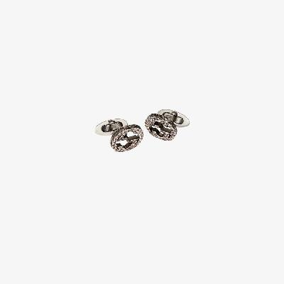 Gucci - Sterling Silver Double G Cufflinks