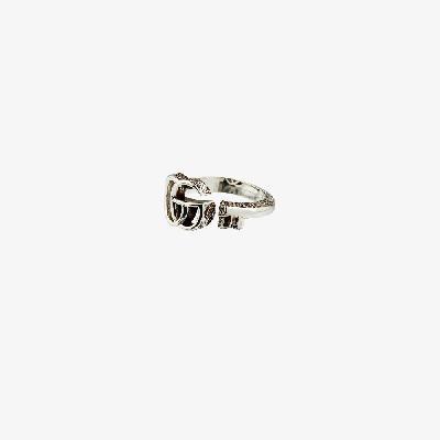 Gucci - Sterling Silver GG Key Ring