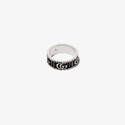 Gucci - Sterling Silver Double G Ring