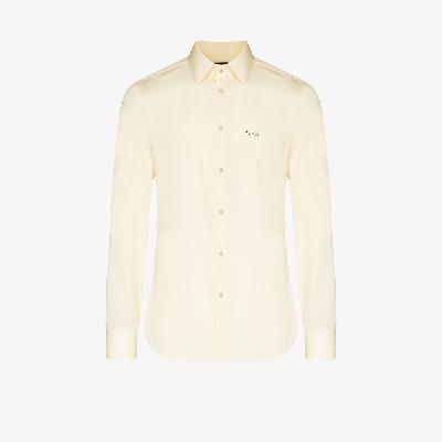 Gucci - Logo-Embroidered Cotton Shirt