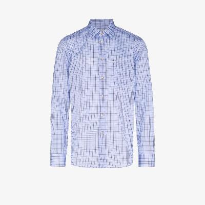 Gucci - Micro-Check Tailored Shirt