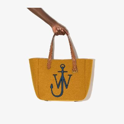 JW Anderson - Yellow Belt Felt Tote Bag