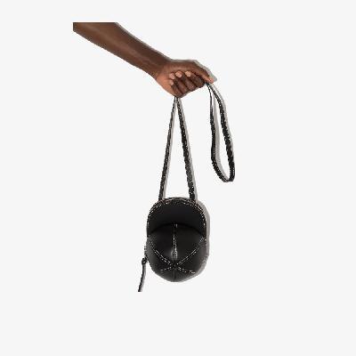 JW Anderson - Black Midi Cap Leather Mini Bag