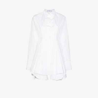 JW Anderson - Fitted Waist Flared Shirt