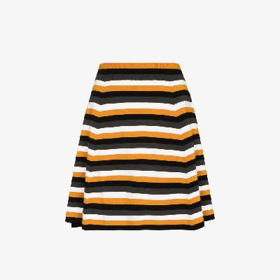 JW Anderson - Striped A-Line Skirt