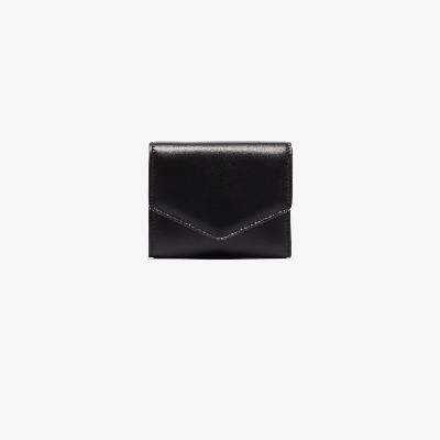 Maison Margiela - Black Four-Stitch Leather Wallet