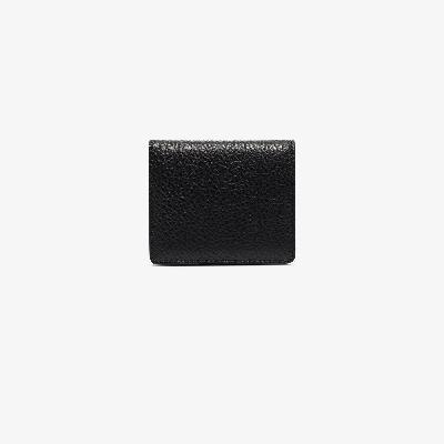 Maison Margiela - Black Grained Leather Bifold Wallet