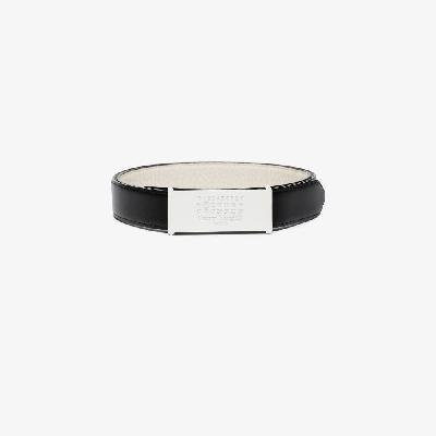 Maison Margiela - Black Reversible Leather Belt
