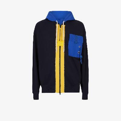 Moncler Genius - 1 Moncler JW Anderson Colour Block Hoodie