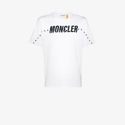 Moncler Genius - 7 Moncler Fragment Logo Print Cotton T-Shirt