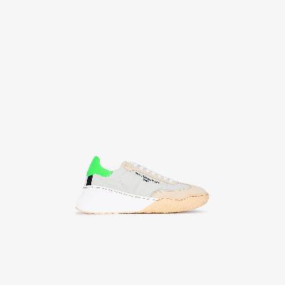 Stella McCartney - Neutral Loop Low Top Sneakers