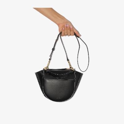Wandler - Black Hortensia Mini Leather Shoulder Bag