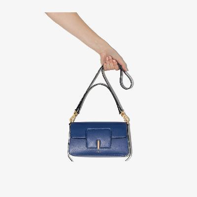 Wandler - Blue Georgia Leather Shoulder Bag
