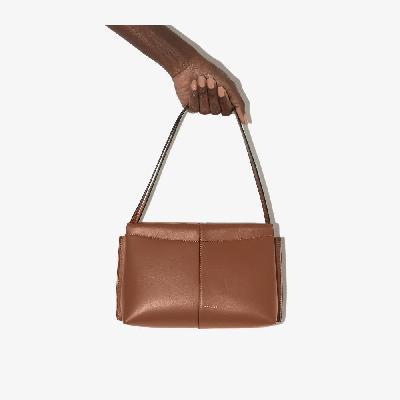 Wandler - Brown Carly Mini Leather Shoulder Bag