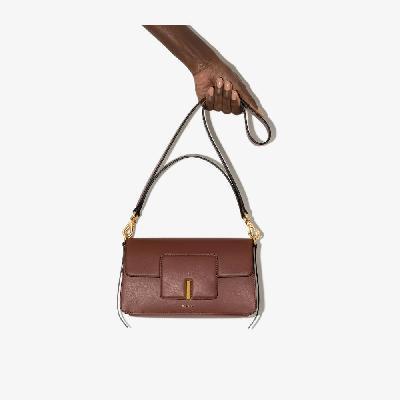 Wandler - Brown Georgia Leather Shoulder Bag