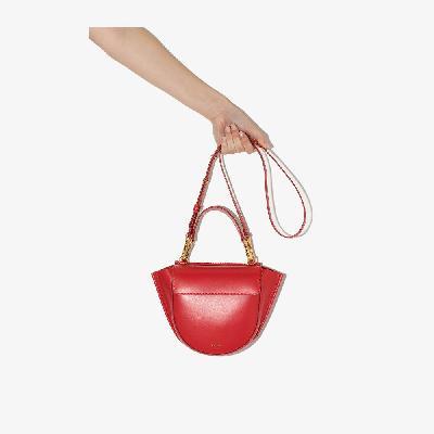 Wandler - Red Hortensia Mini Leather Shoulder Bag